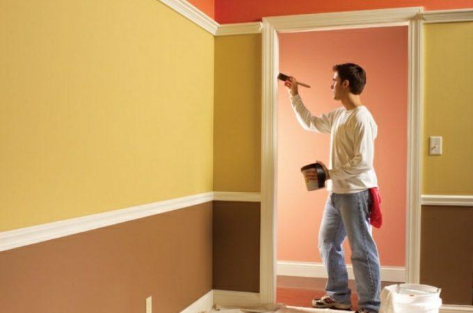 Преимущества красок в качестве материала для обновления пространства
