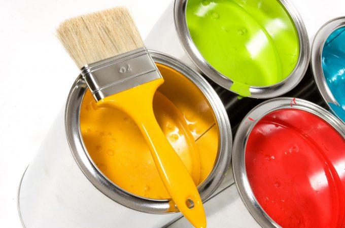 Материалы красок для интерьера